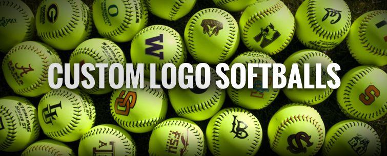 Softball Custom logos, Softball, Custom