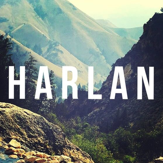 Harlan Is Of English Origin And It Means Dweller By The Boundary Wood Cool Baby Names Unusual Baby Names Baby Names