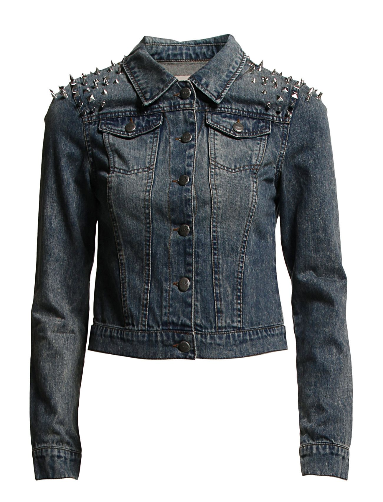 ONLY LUCY PUNK STUDS DENIM JACKET