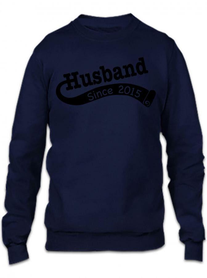 Husband Since 2015 Crewneck Sweatshirt