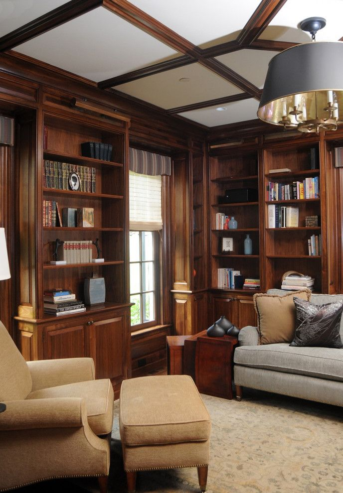 28 Dreamy Home Offices With Libraries For Creative Inspiration: Want A Home Library? Here Are 4 Tips To Help Make Your Dream Come True