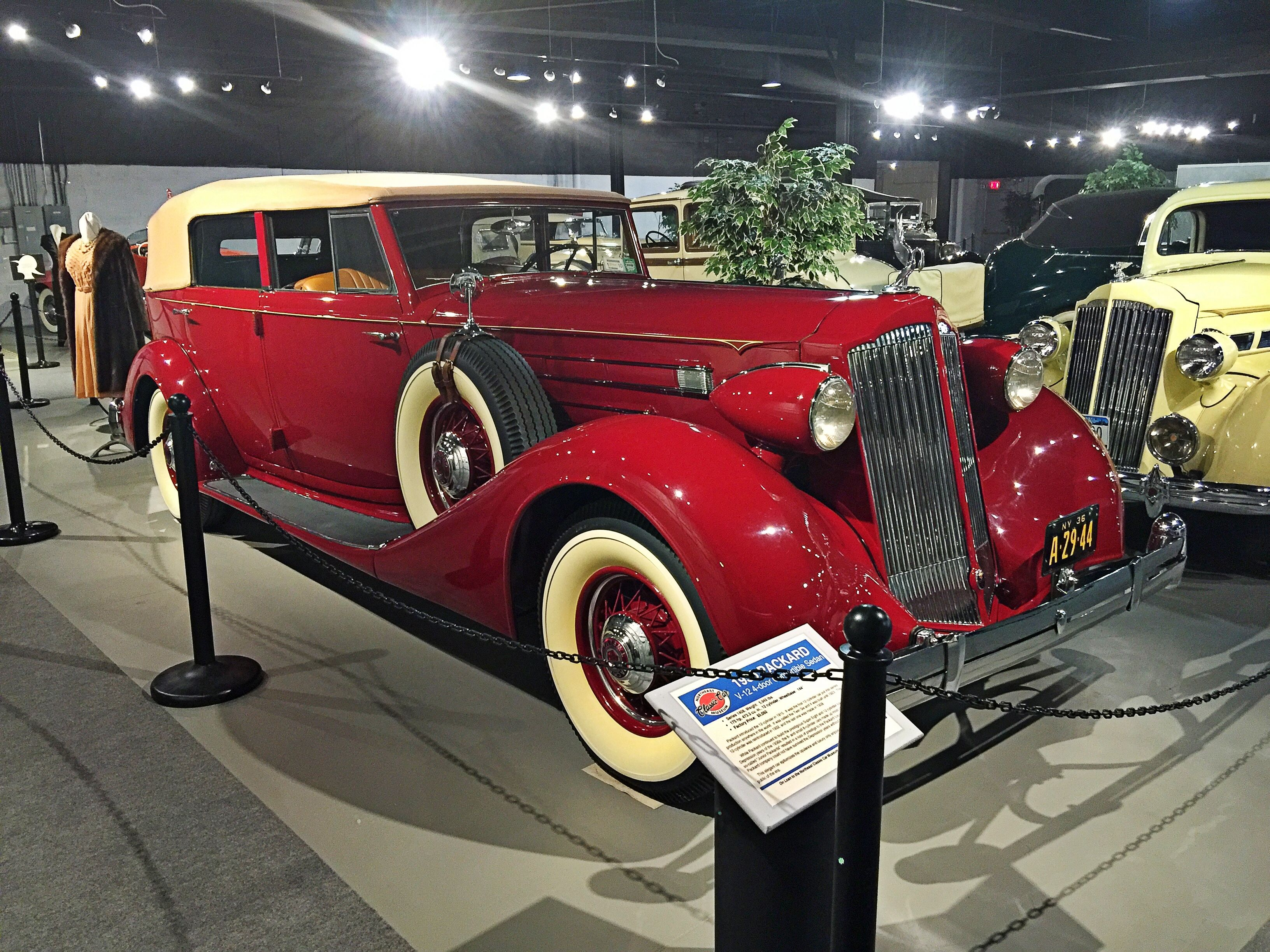 1930 Packard V12 | Northeast Classic Car Museum, Norwich NY ...