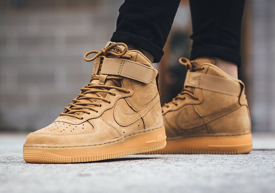 Nike Air Force 1 High Flax Women S Release Sneakernews Com Nike Free Shoes Nike Shoes Outlet Brown Nike Shoes