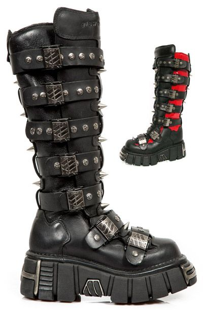 657adb04fbe New Rock M151-C1-C2 Tower Boots   Platform Boots and Shoes in 2019 ...
