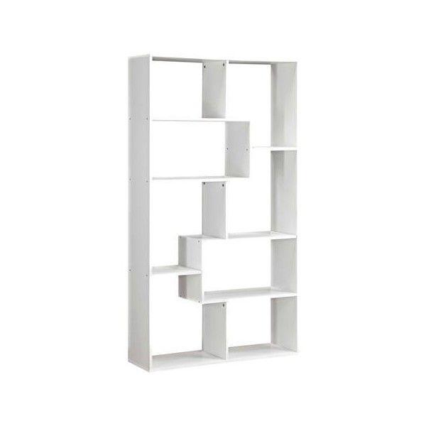 Mainstays Home 8 Shelf Bookcase Walmart Com 5045 Rsd Liked On