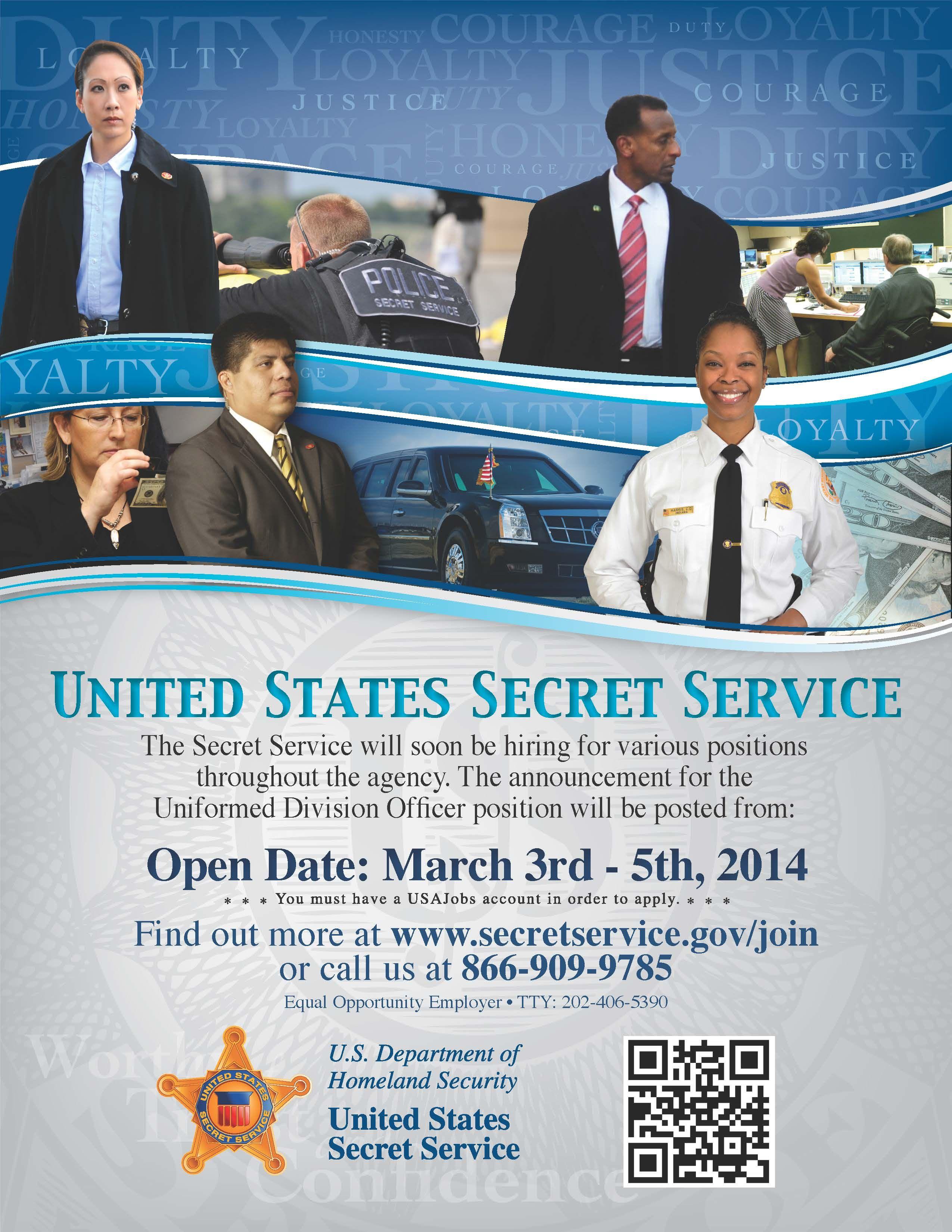 Secret Service Information Session - Meet Officer Walker on ...