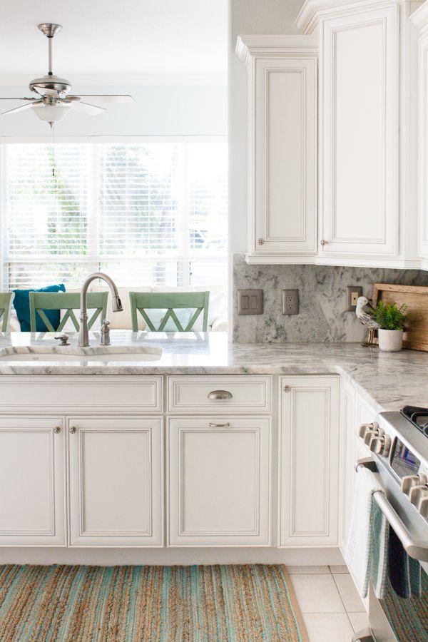 Coastal Kitchen And Family Room Coastal Kitchen Design Coastal