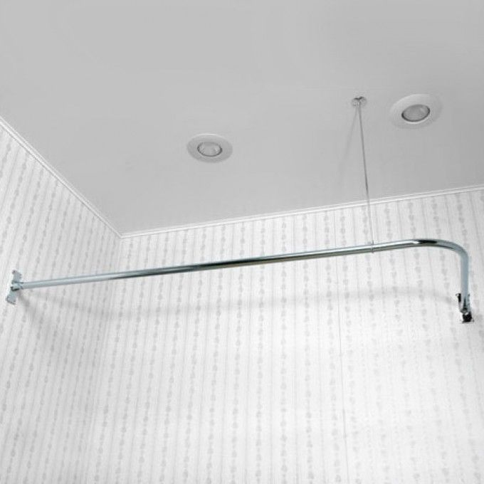 Corner Shower Curtain Rod with 36\