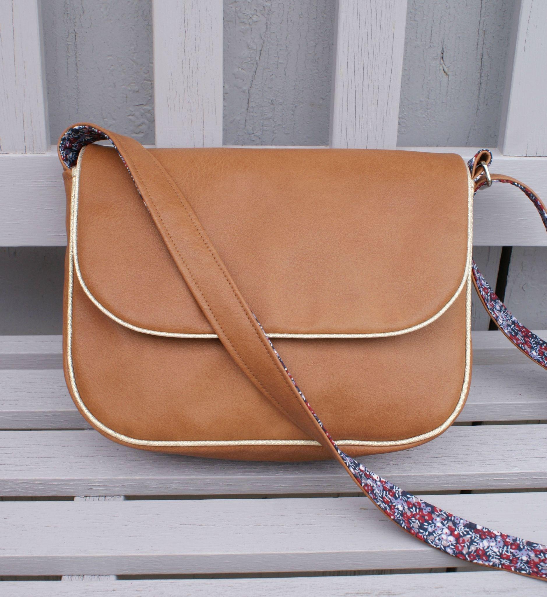 Tuto mini sam camel wilmslow berry couture sac trousse pinterest sac main - Couture sac a main ...