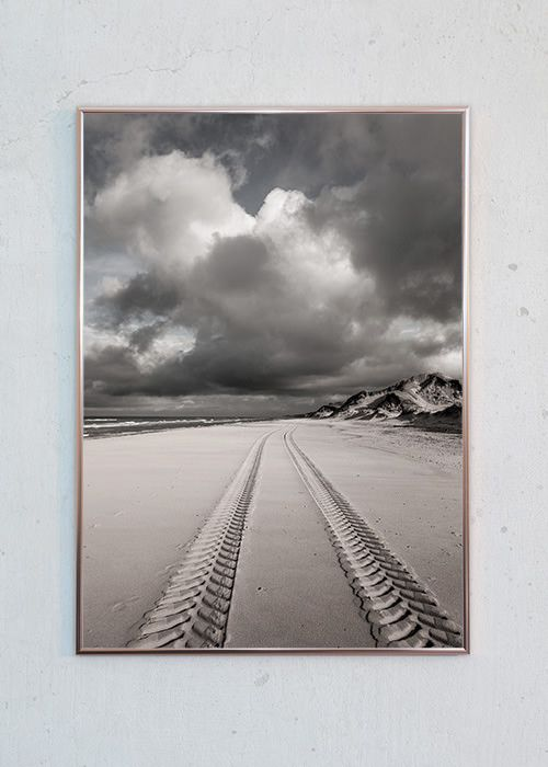Spor Ved Skagen Fotokunst Plakater Foto