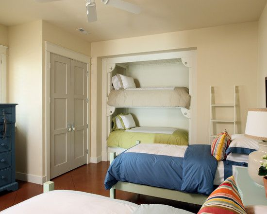 design your own bunk bed traditional bedroom built in bunks designed to fit extra long - Design Your Own Bedroom For Kids
