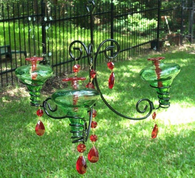 39 Awesome Diy Chandelier Hummingbird Feeder Ideas Humming Bird Feeders Diy Chandelier Glass Hummingbird Feeders