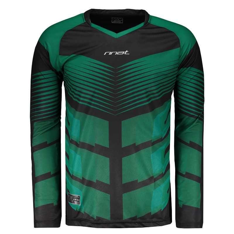 70ad9e6d3faf6 Camisa Rinat Bellator Goleiro Manga Longa Verde Somente na ...