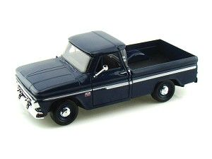 1966 Chevy C10 Fleetside Pickup 1/24 Dark Blue