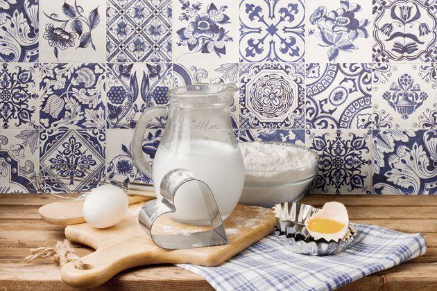 Küche - Spanische Fliesen zum Verlieben - Tile of Spain - Fliesen - fliesenspiegel in der küche