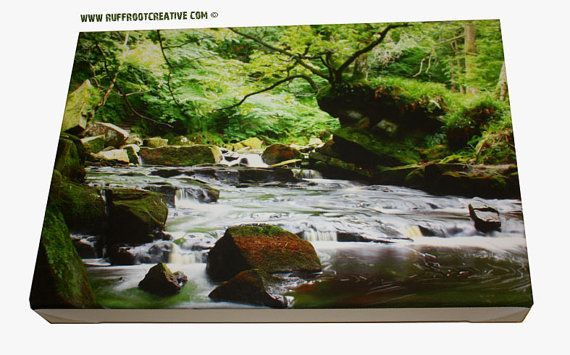 Mallyan Spout River  on ecowise quality canvas by RuffRootCreative, £45.00