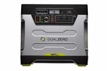 Goal Zero Yeti 1250 Solar Generator | Power Packs | Goal Zero 1-100 Ah AGM battery Takes 18 hours to recharge Charges a smartphone 100+ times on recharge