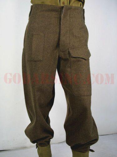 WW2 Style 1937 Pattern Battledress Tunic Khaki Woolen BD Re-enactment Jacket.