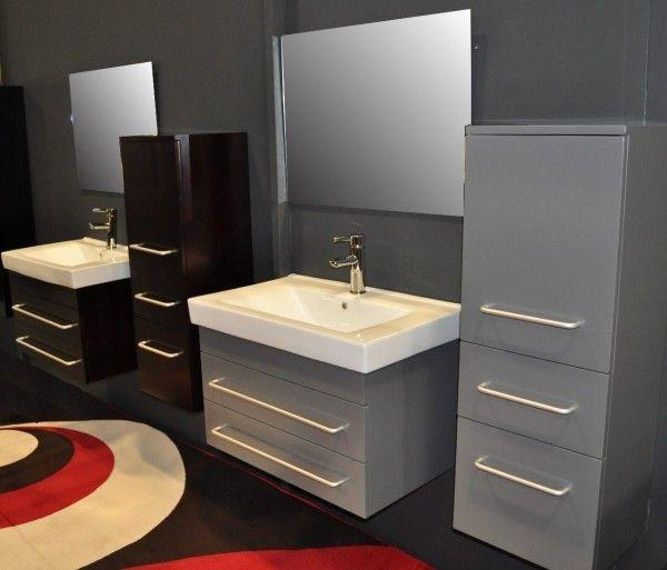 Ideen für die Badezimmergestaltung in den Trendfarben Rot und Grün