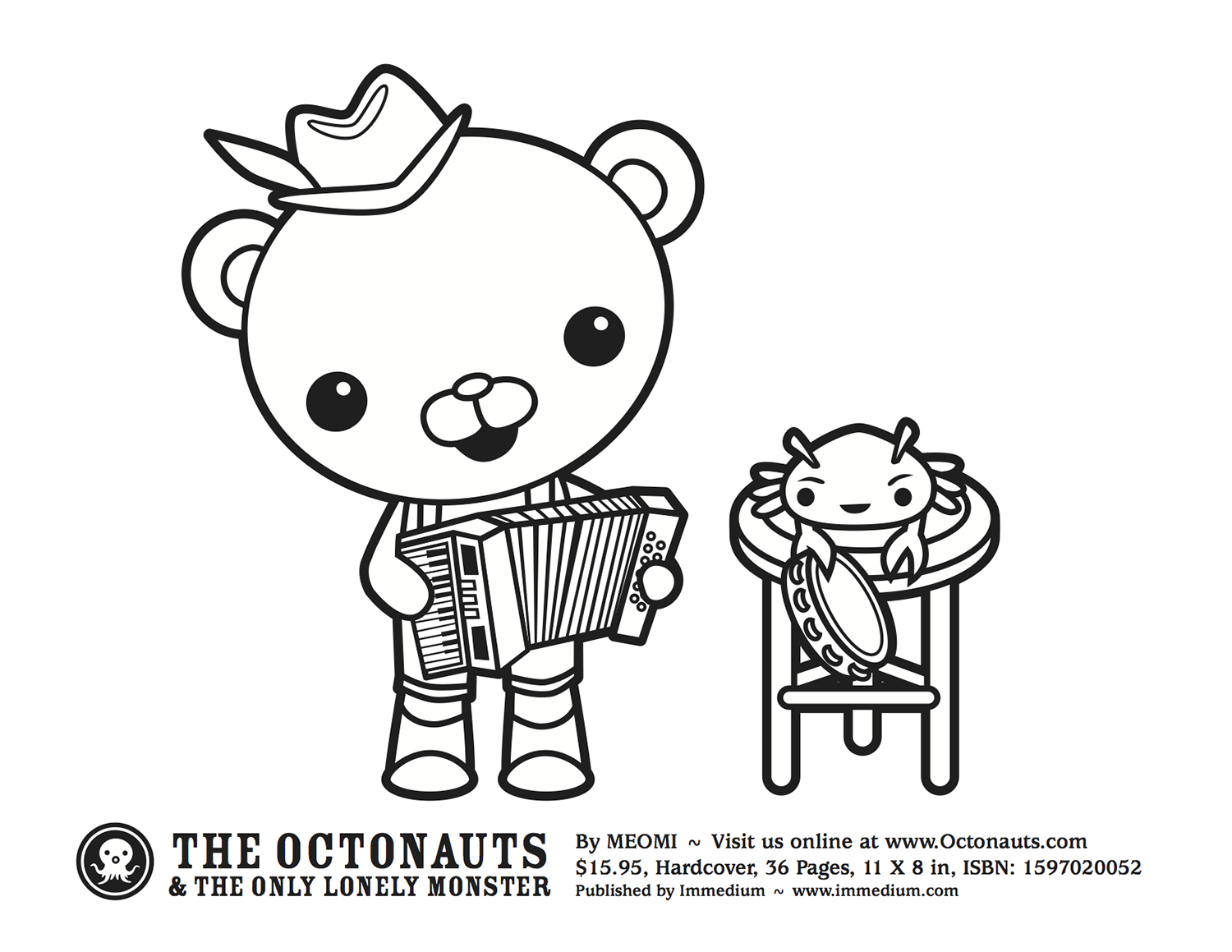 Octonauts | Coloring Pages for Kids | Pinterest