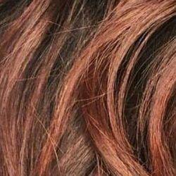 Schwarze Haare Mit Strähnchen