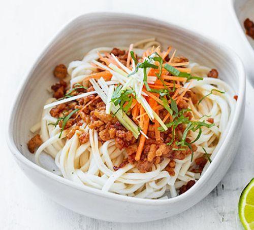 Crispy chilli turkey noodles | Recipe | Turkey mince ...