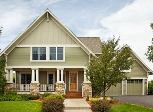 Dry sage coastal fog and white dove from benjamin moore - Benjamin moore white dove exterior ...
