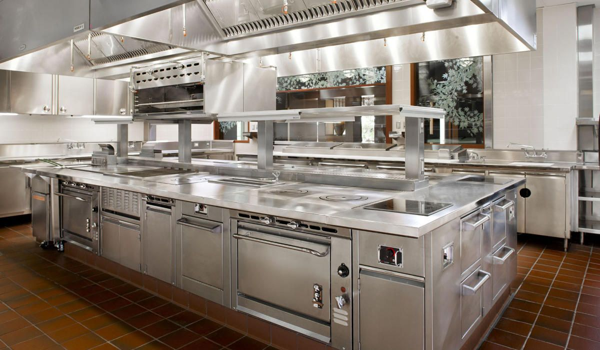 Chefs 1200 700 pinterest for Best commercial kitchen designs