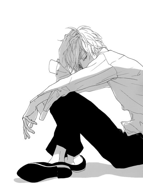 manga, boy, and anime image Anime crying, Anime, Manga boy
