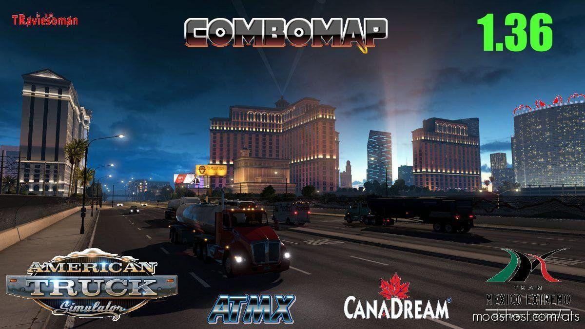 Download Super Combo Map 1 36 For American Truck Simulator In