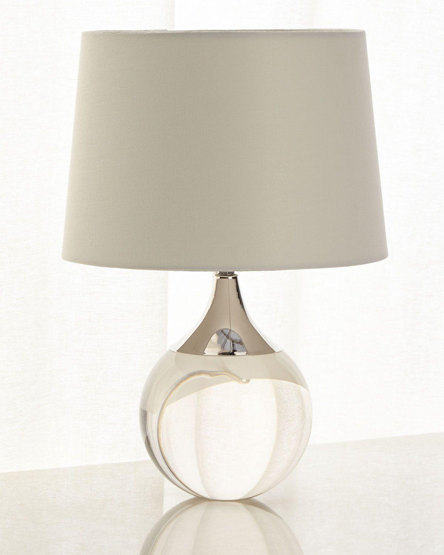 Regina Andrew Fluted Crystal Ball Lamp Ball Lamps Lamp Table Lamp