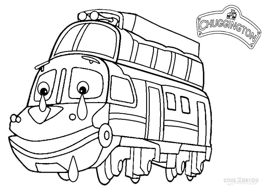 Printable Chuggington Coloring Pages For Kids Cool2bkids Coloring Pages Coloring Pages For Kids Colouring Pages