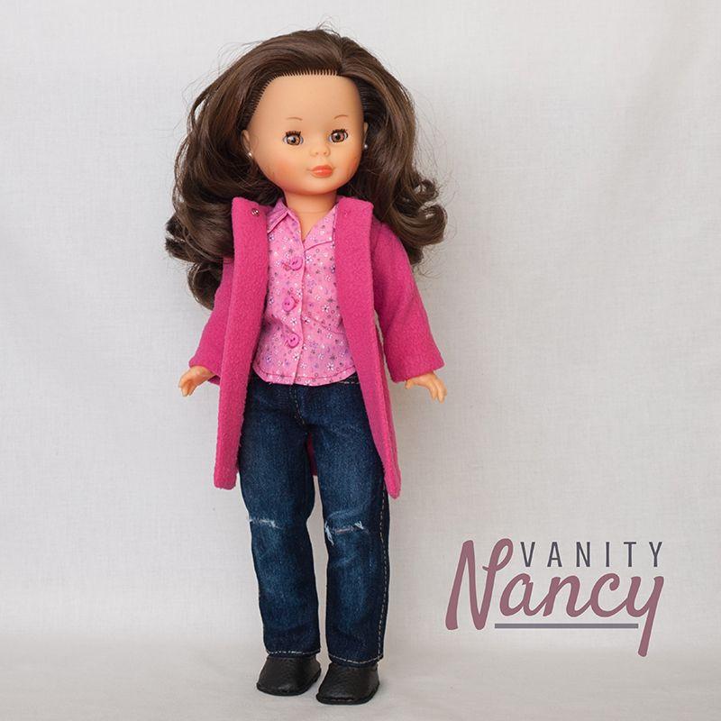 Outfit para Nancy hecho con los patrones en pdf, a escala real, de ...