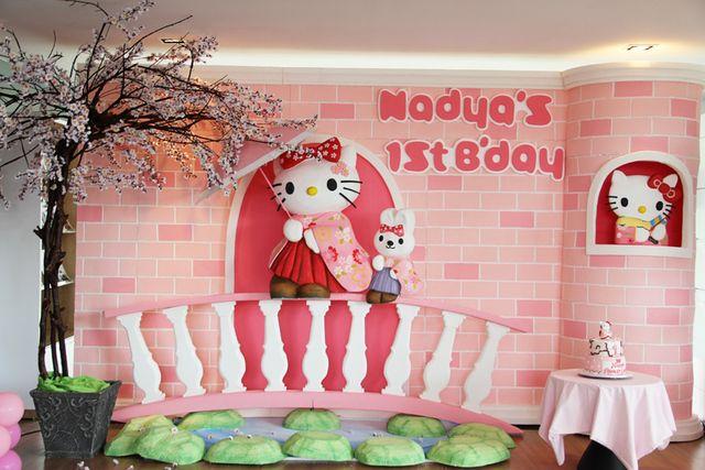 Hello Kitty Sakura Birthday Party Ideas With Images Hello