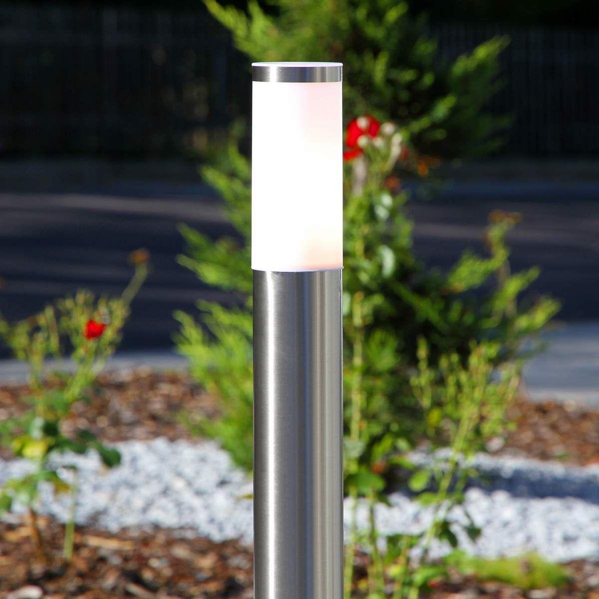 Zylinderförmige Wegelampe Kristof Edelstahl Products In