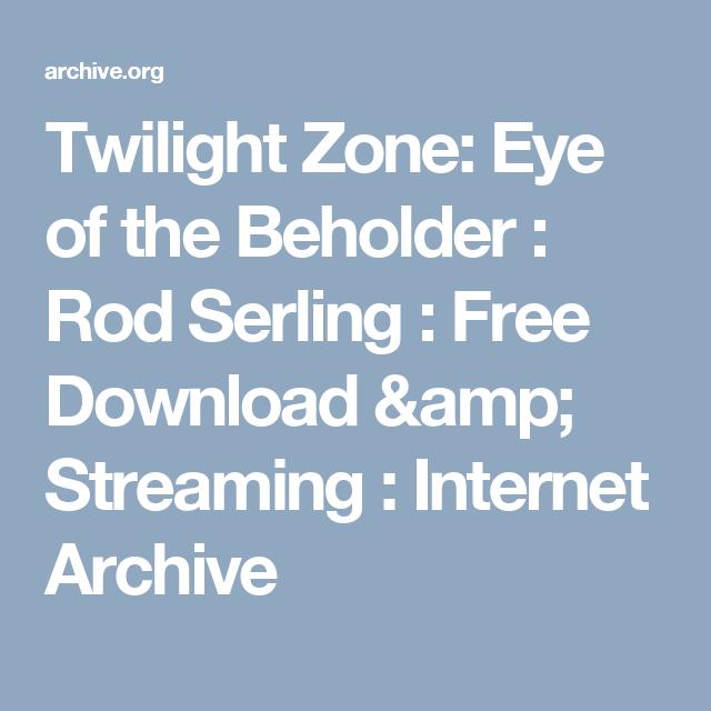 Twilight Zone Free Stream