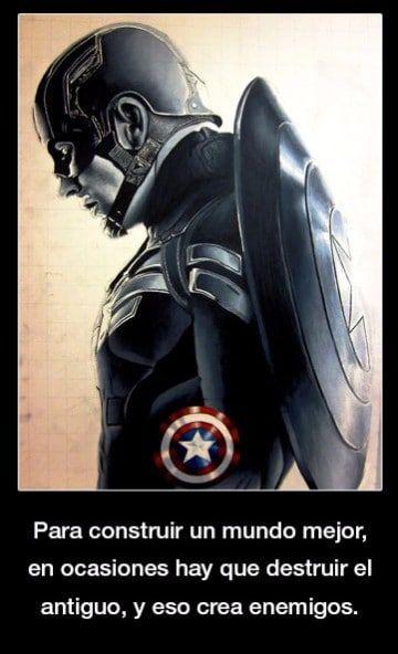 Frases Del Capitan America Civil War Marvel Frases Del