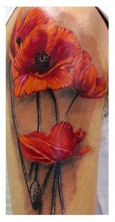 Watercolor Tattoo Mohnblume Google Suche Mohnblume Blatt Tattoos Mohn
