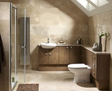 Zanzibar furniture plumbworld bathroom inspiration for Small fitted bathroom ideas
