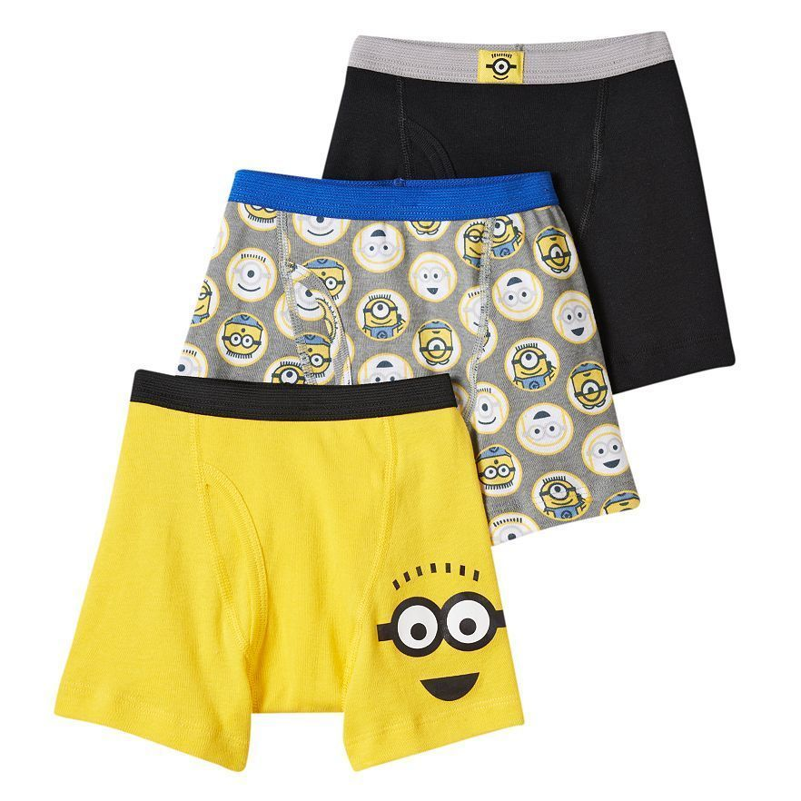 Despicable Me Minions Swim Trunks Shorts Boy Size 8 10//12