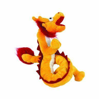 Vip Tuffys Mighty Jr Dragon Interactive Extreme Durable Dog Fun