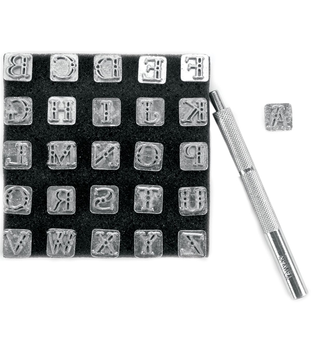 Tandy Leather Factory Easy To Do Series Stamp Set Alphabet 1 4