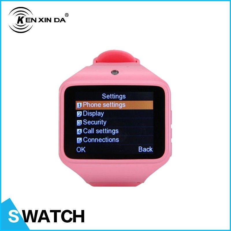 Kenxinda Pink Smart Watch 2.0 With Sim Card + SDcard