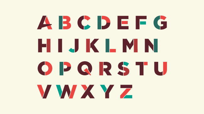 SCRATCH Basic & DetailUppercase display typeface special for