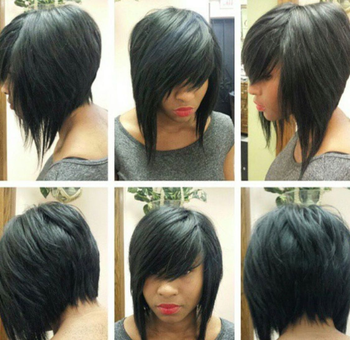 Cutechoppybob hairstyles pinterest bobs hair style and