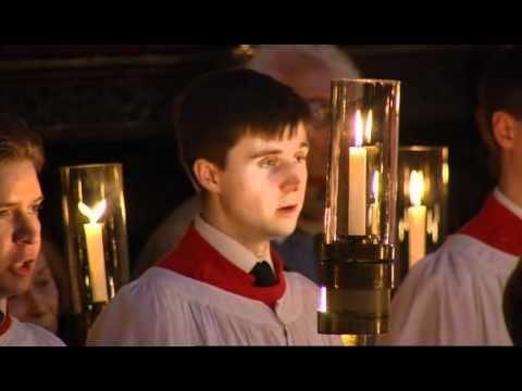 O Little Town Of Bethlehem Vaughan Williams Hymn King S 2005 6 College Choir Christmas Music Videos Vaughan
