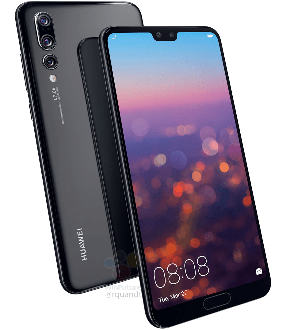 Huawei P20 Pro Specs Leak 40 20 8mp Rear Cameras Listed Smartphone Huawei Phone