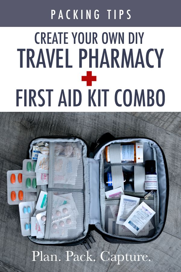 DIY Travel Pharmacy