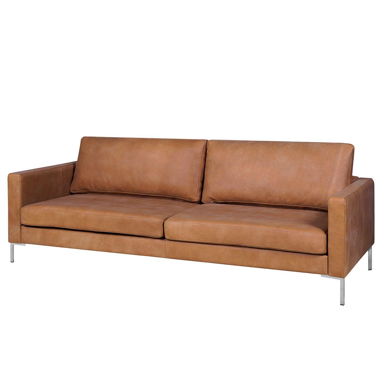 Fredriks Sofa Portobello Iv 3 Seater Brown Genuine Leather 216x75x85 Cm Sofa Sofa Mit Relaxfunktion Einzelsofas