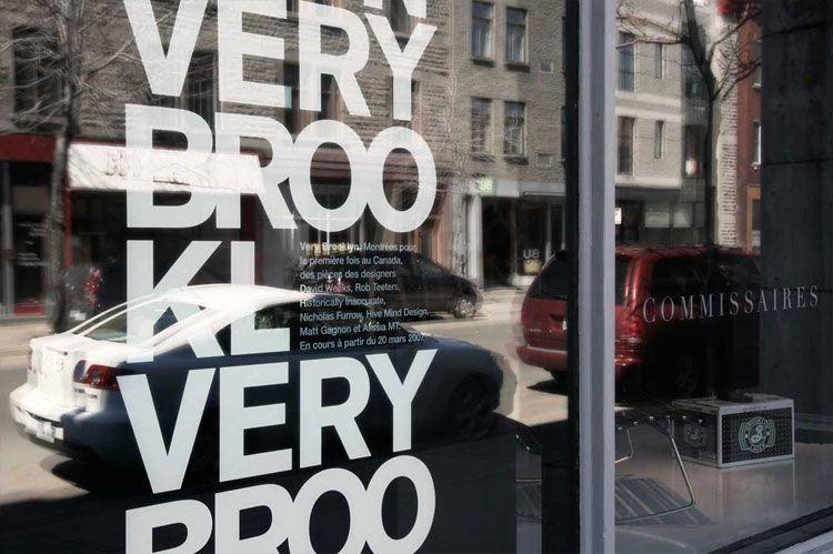 High Contrast Window Signage  Paprika Graphic Exchange